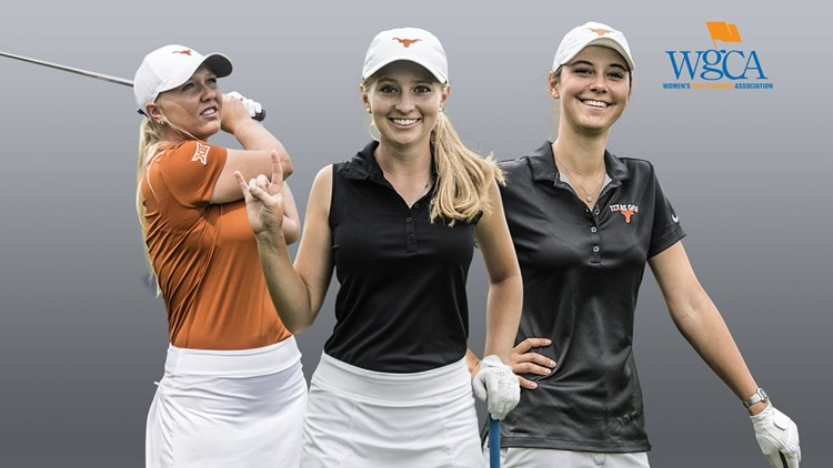 Three Texas Longhorn women golf members named WGCA First Team All-Americans