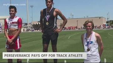Perseverance pays off for San Angelo track athlete