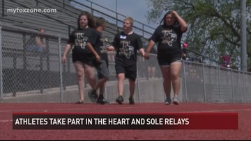 Heart and Sole Relays in Brady