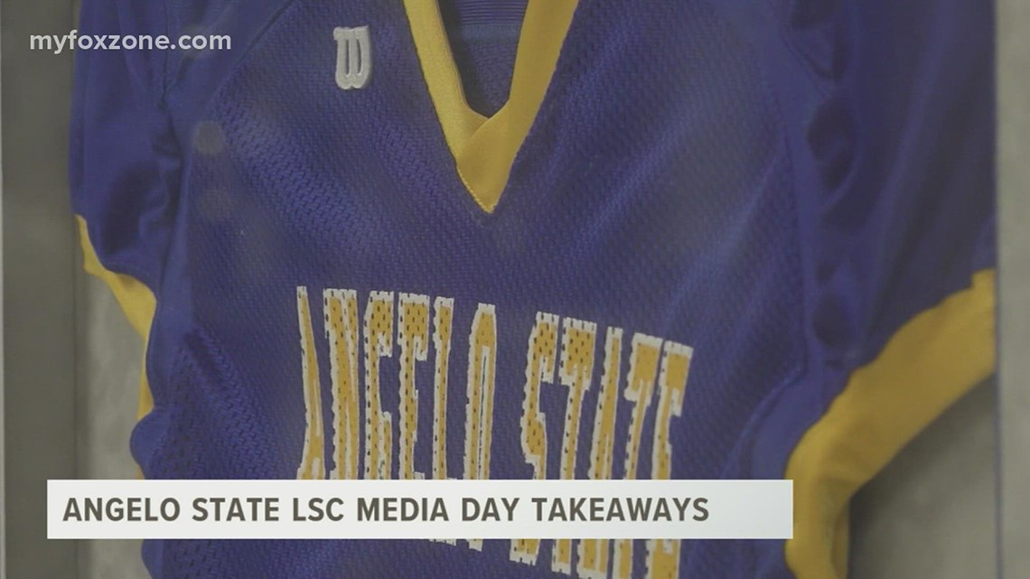 Angelo State takeaways from LSC Media Day