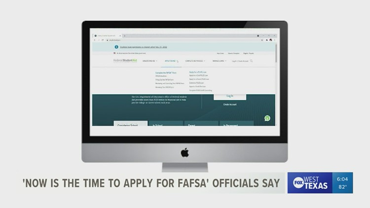 Where to get help with filling out the FAFSA for next year