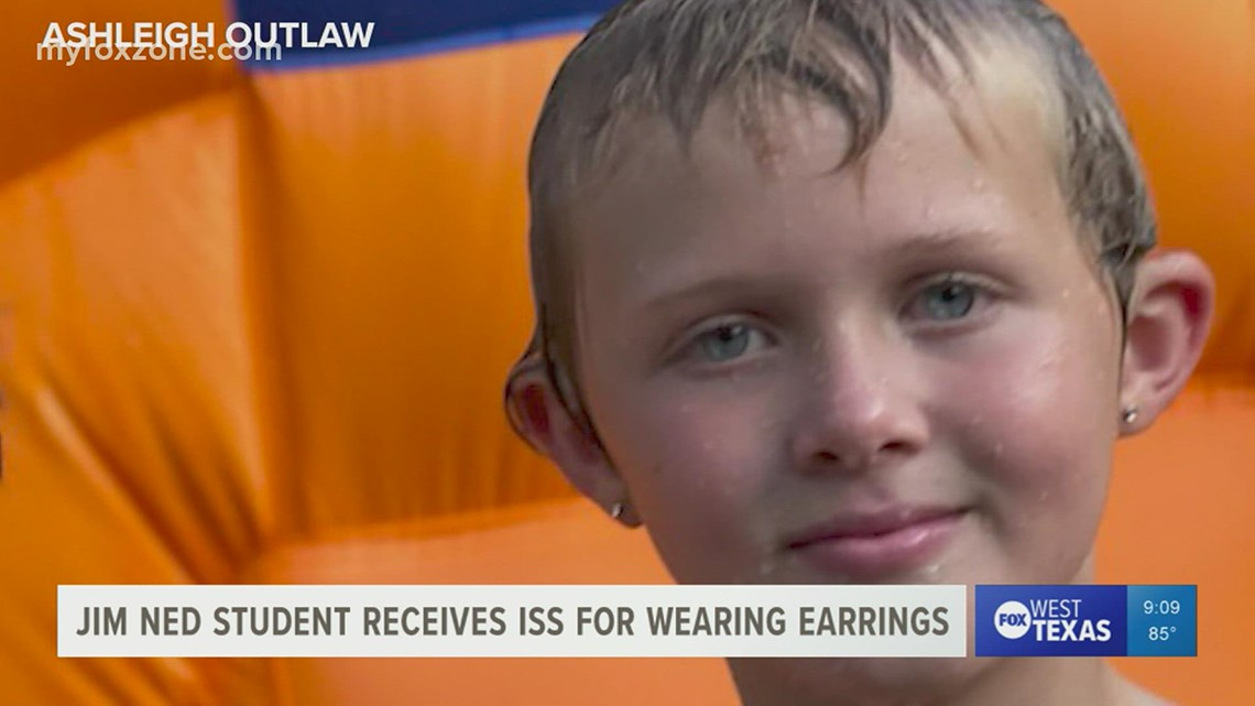 'We won't stop until we have done all we can.' Petition made to change Jim Ned CISD dress code after fifth grader gets in trouble for earrings
