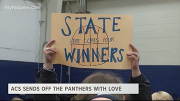 ACS sends off the Panthers with Love