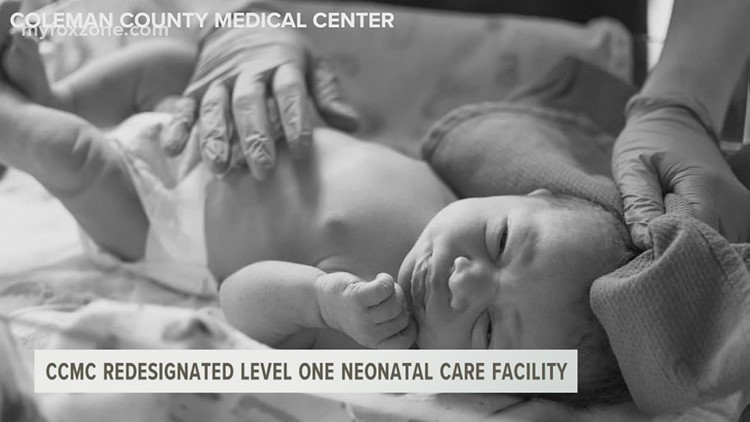 Coleman County Medical Center redesignated as a level one neonatal care facility