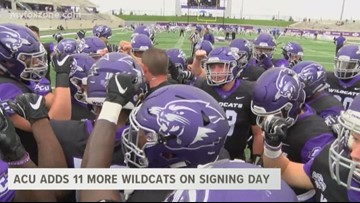 ACU adds 11 more Wildcats on signing day