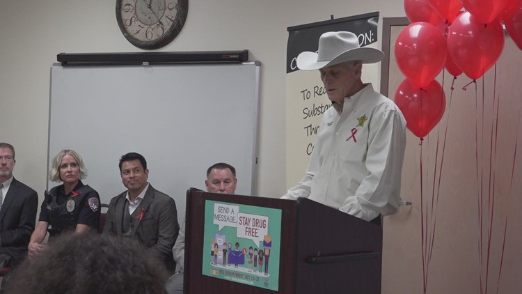 Proclamation of Red Ribbon week: Fighting the war on drugs