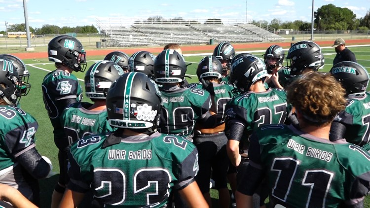 Grape Creek Eagles optimistic after first season win over TLCA