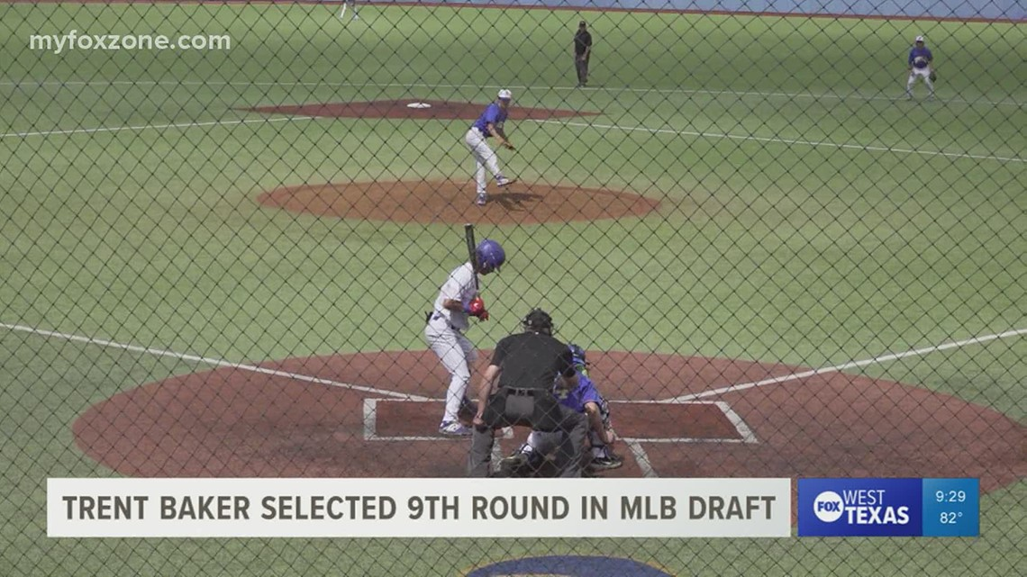 Former Angelo State pitcher Trent Baker drafted by St. Louis Cardinals