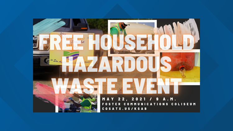 KSAB will be hosting a free Household Hazardous Waste event Saturday, May 22