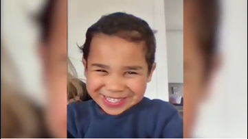 Little boy goes viral singing a Bob Marley song