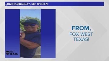 FOX West Texas wishes Mr. O'Brien a Happy Birthday!