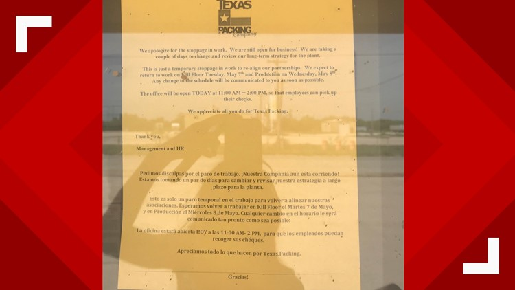 Texas Packing Co Cited For Osha Violations Faces 615k In Fines