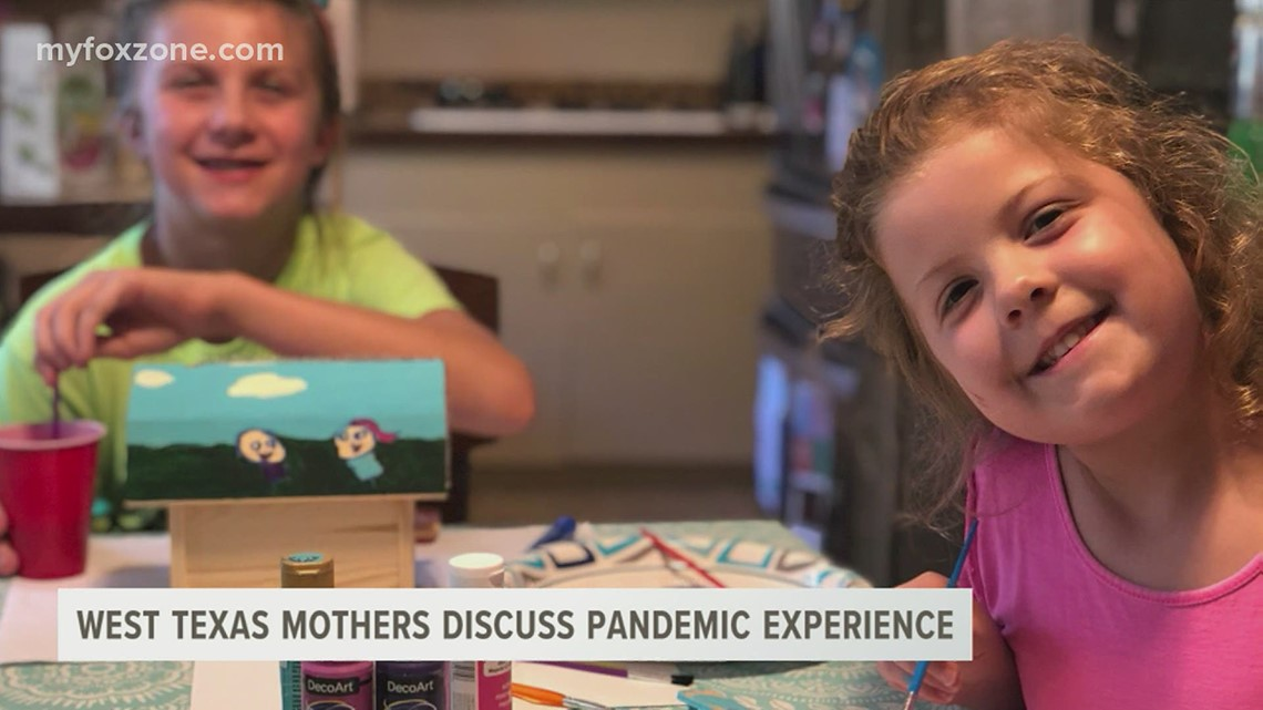West Texas moms talk about pandemic experience