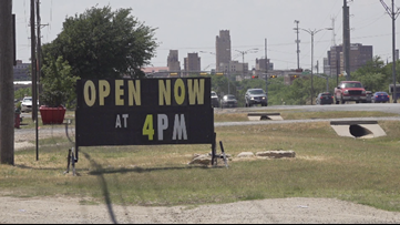 West Texas bar re-opens early, says they can't afford to wait