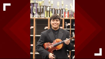 CHS student receives first place in All-Region Symphony Orchestra