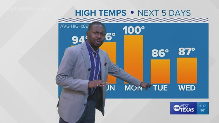 Friday evening forecast 9/17/21 @6p