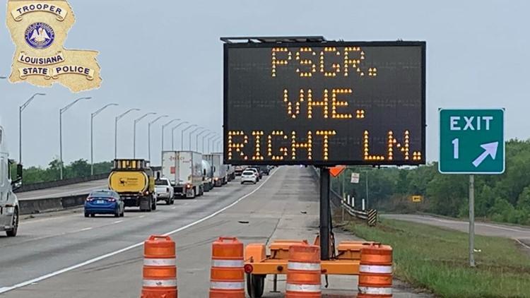 Louisiana border checkpoint