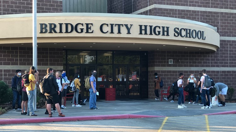 Bridge City students first in Southeast Texas to return to school during pandemic
