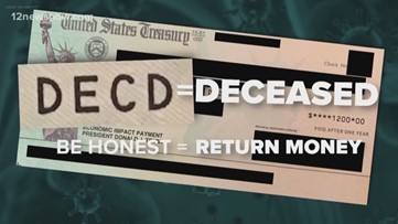 The cost of dead Americans receiving stimulus checks and what happens next