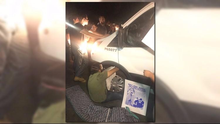 Protests, arrests as Mesa mom faces deportation after Trump order