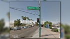 Is the Phoenix heat causing street signs to melt?