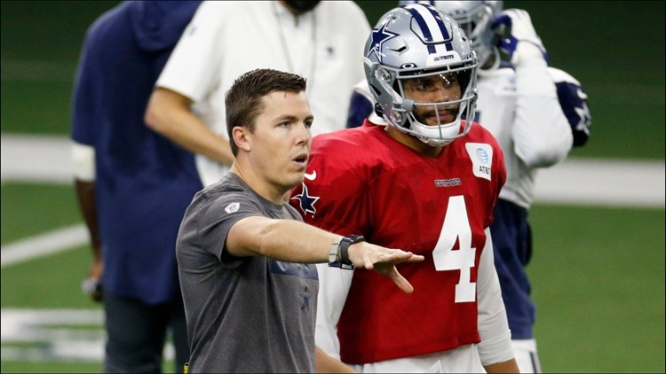 Kellen Moore withdraws name from consideration at Boise State; agrees to multi-year extension with Dallas Cowboys