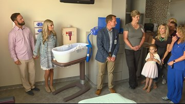 Cuddle cots give grieving mothers the gift of time