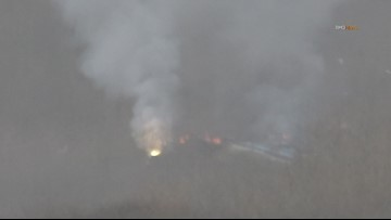 Fire after helicopter crash that killed 9 people including Kobe Bryant  brings up questions for 9NEWS reporter