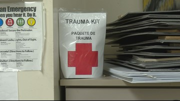 TLCA freshman completes Eagle Scout badge by prepping Howard College with trauma kits
