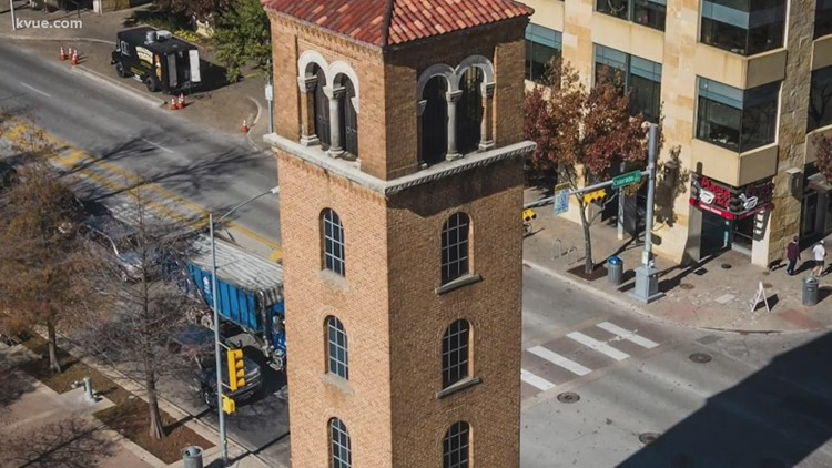Austin's historic Buford Tower, scarred by a fire Thursday, holds a special place in the hearts of firefighters