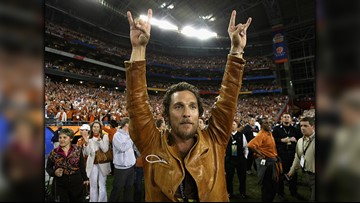 'Minister of Culture' | Matthew McConaughey gets special role at UT's new basketball arena