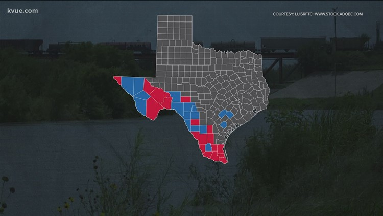Letters to Gov. Abbott show which counties are impacted by illegal border crossings