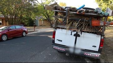 Austin police remove junked car from neighborhood after Defenders find guns inside
