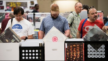 Largest vinyl record sale in the U.S. happening in Austin this weekend