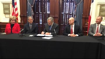 Governor Abbott signs school safety bills in response to  Santa Fe High School shooting