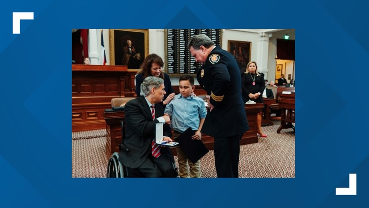 Governor Abbott Presents 2019 Star Of Texas Awards