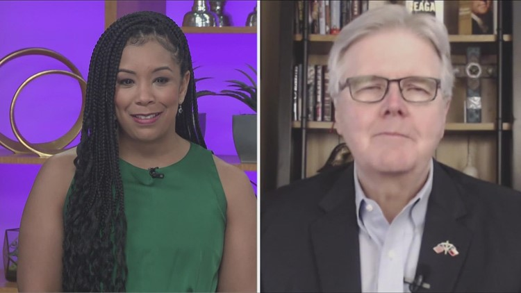 Extended interview: Lt. Gov. Dan Patrick speaks out ahead of third special session