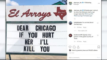 'If you hurt her, I'll kill you.' Austin's El Arroyo chimes in on Whataburger acquisition