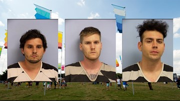 3 men scalped, reused ACL Fest wristbands more than 100 times, Austin police say