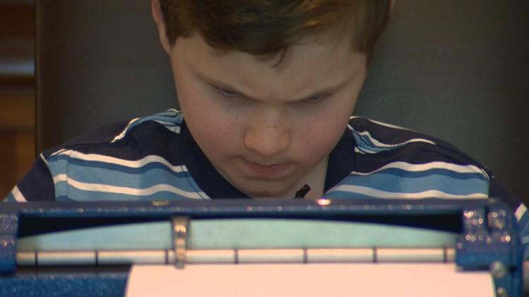 Austin fifth-grader wins multinational Braille Challenge