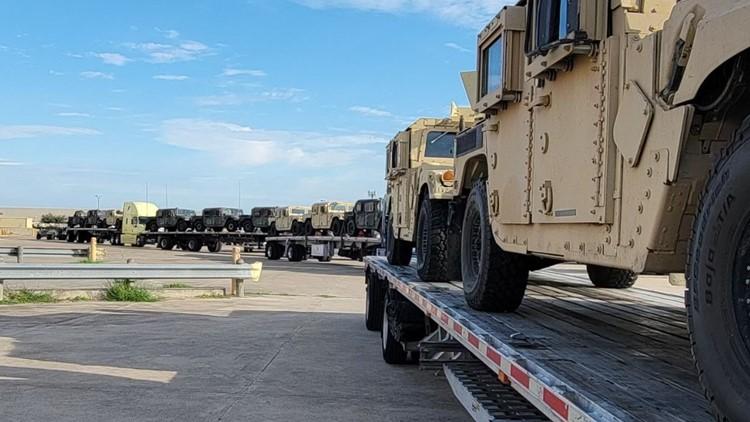 Texas National Guard increasing presence at Texas-Mexico border