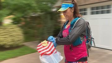 Austin marathoner making on-foot deliveries to at-risk neighbors