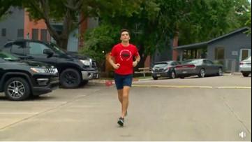 Austin ISD teacher runs 50 miles around apartment complex to raise money for students