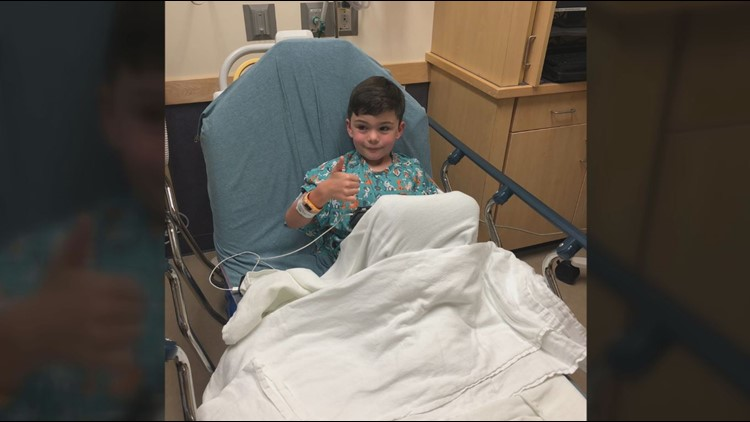 'I wasn't going to leave without getting an answer': Austin mom's instinct helps save 6-year-old son's life