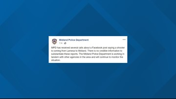 UPDATE: DPS has detained suspect related to social media post about shooter