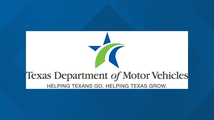 The Texas Department of Motor Vehicles waives vehicle registrations