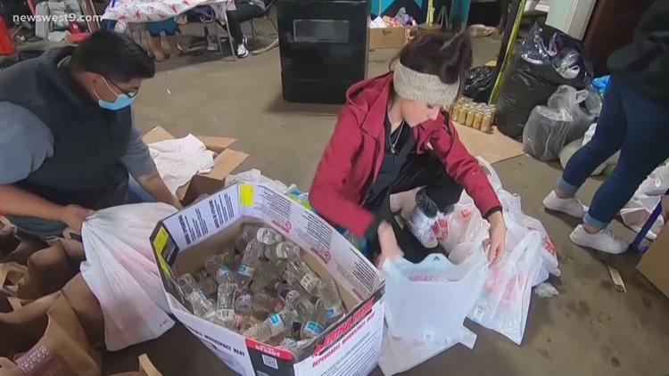 Organizations provide assistance to residents following winter weather