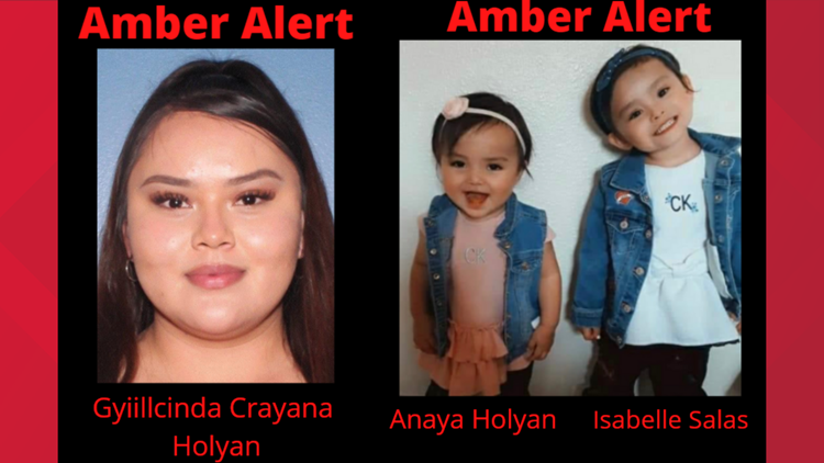Amber Alert issued for 2 girls and mother missing from Carlsbad