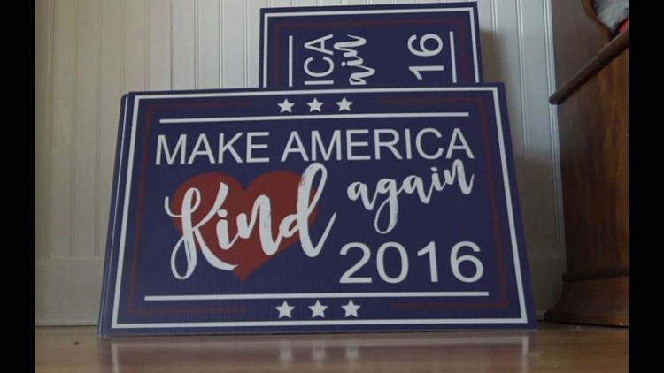 'Make America Kind Again' lawn signs take off in Sacramento