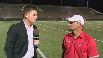 Interview with Coach Roan after Cougars loss to Keller High
